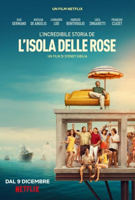 実話が基!奇想天外なアイディアが刺激的!「ローズ島共和国」イタリア映画(Netflix)