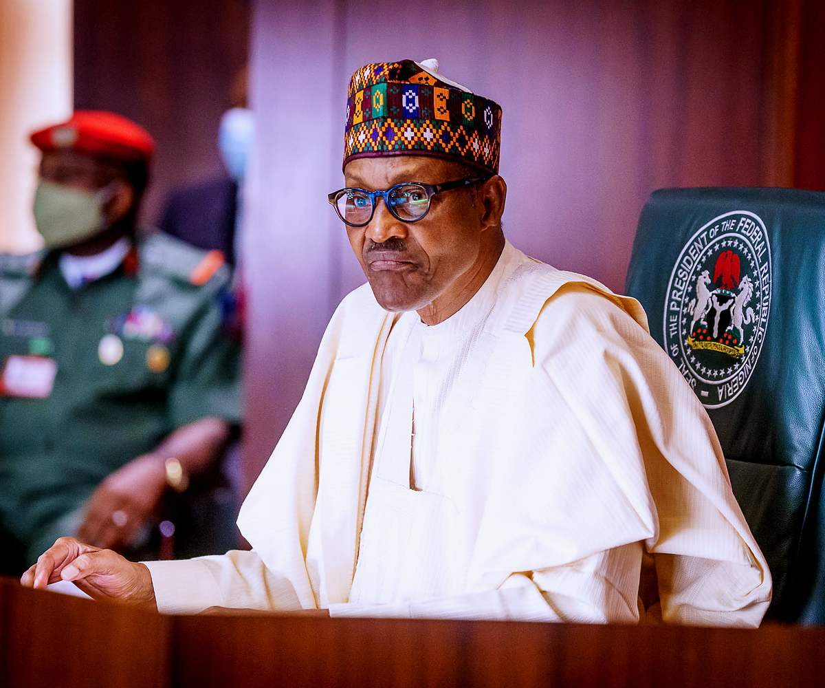 Buhari Directs National Flags To Fly At Half-Mast To Mourn Late COAS, Others