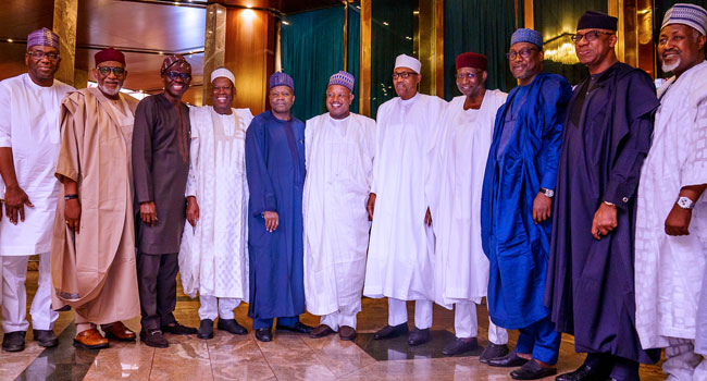 Buhari Will Resolve All National Challenges - APC Governors