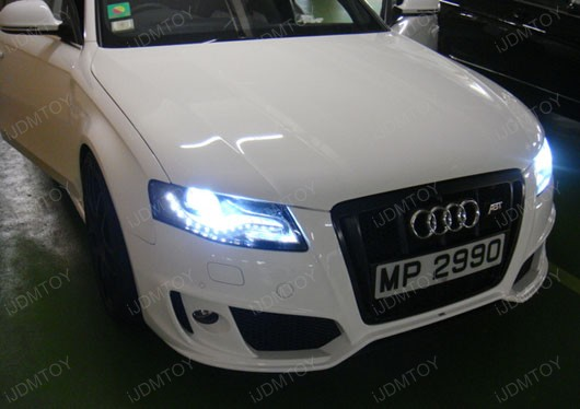 8000K Sky Blue D3S Xenon Head Lights HID Bulbs Audi