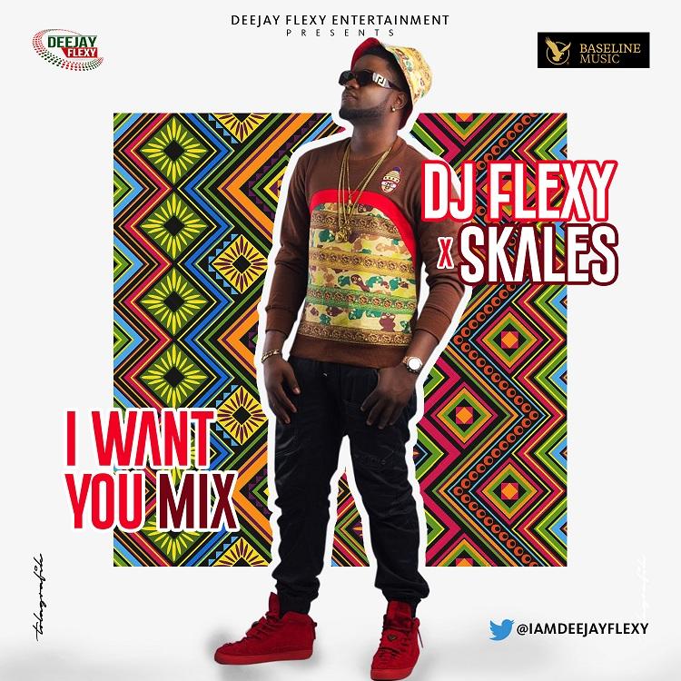 DJ Flexy Ft. Skales - I Want You Mix
