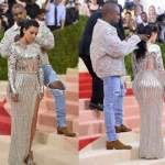 #NEWS – Kanye West and Kim Kardashian crowned as Met Gala 2016's best-dressed couple