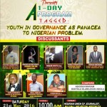 """Event: """"Youth in Governance, a Panacea to Nigerian Problem"""" @elderdacomplex"""