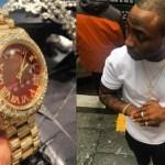 [E!News] : 15 things Davido's new N30m wristwatch can buy