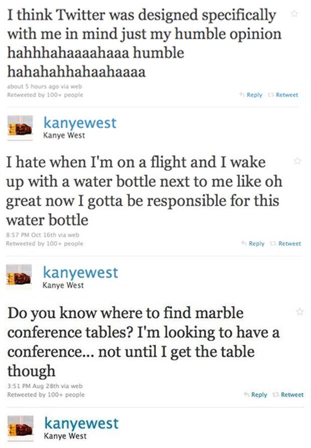 Kanye West deleted Twitter Instagram