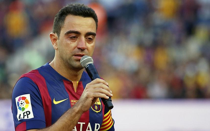 Xavi considering coaching next season, praises Lionel Messi
