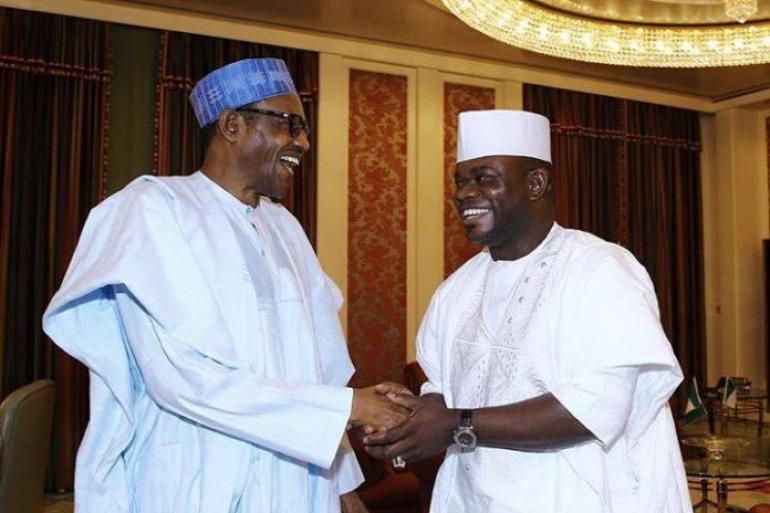 Yahaya Bello And President Buhari