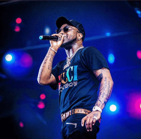 Davido Brings Out Wale At The Filmore Sold Out Concert In Maryland, US