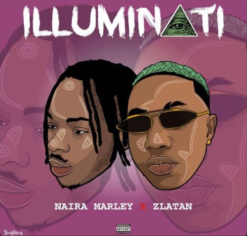 naira-marley-ft-zlatan-ibile-illuminati-art