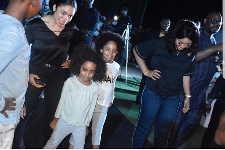 Regina Daniels Pictured Closely With Ned Nwoko And His Beautiful Kids In New Photos