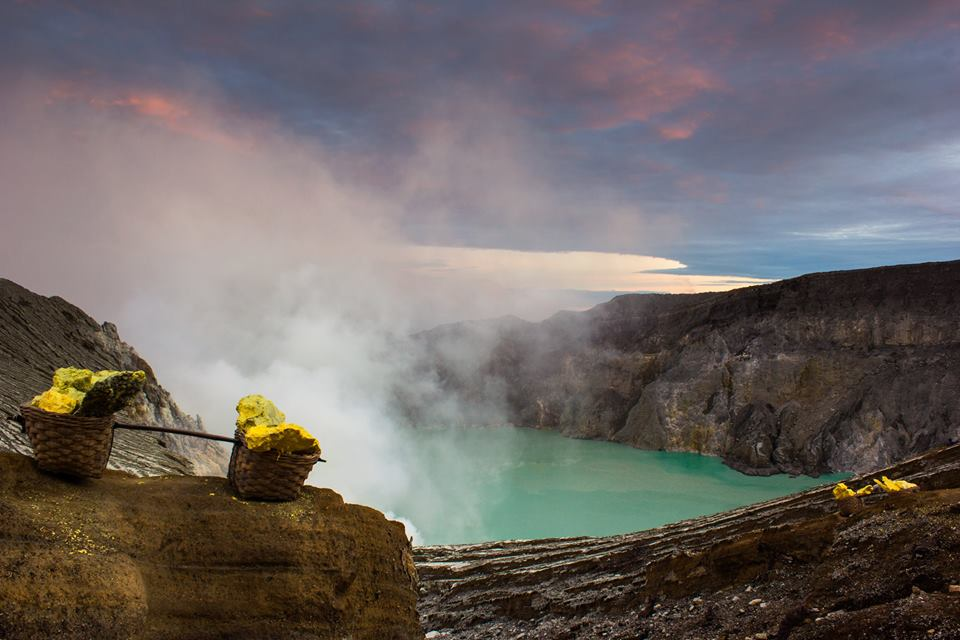 KAWAH IJEN IN THE DAY