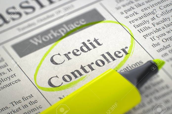 Credit Controller needed urgently: Salary R20 000 to R22 000 per month