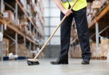 Warehouse Cleaners or Housekeepers