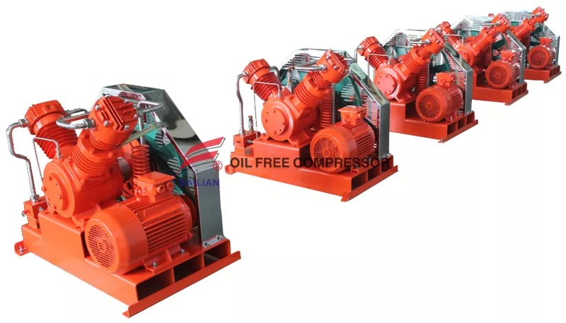 Air Compressor Breaker Blowing