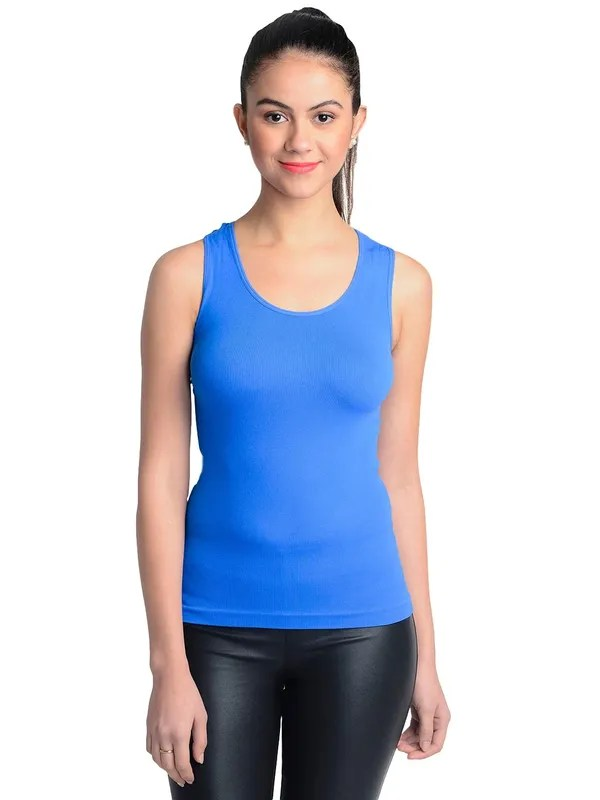Buy Royal Blue Racer Back Top Online At Low Price Intimodo