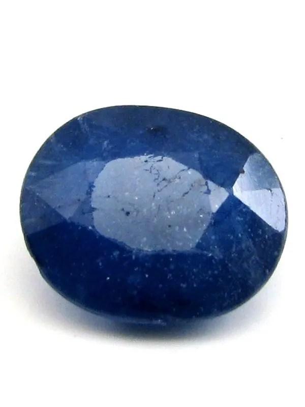 42Ct Natural Blue Sapphire Neelam Oval Cut Gemstone