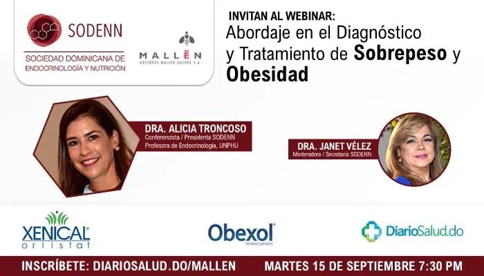 Doctores Mallén invita a webinar sobre abordaje del  sobrepeso  y obesidad