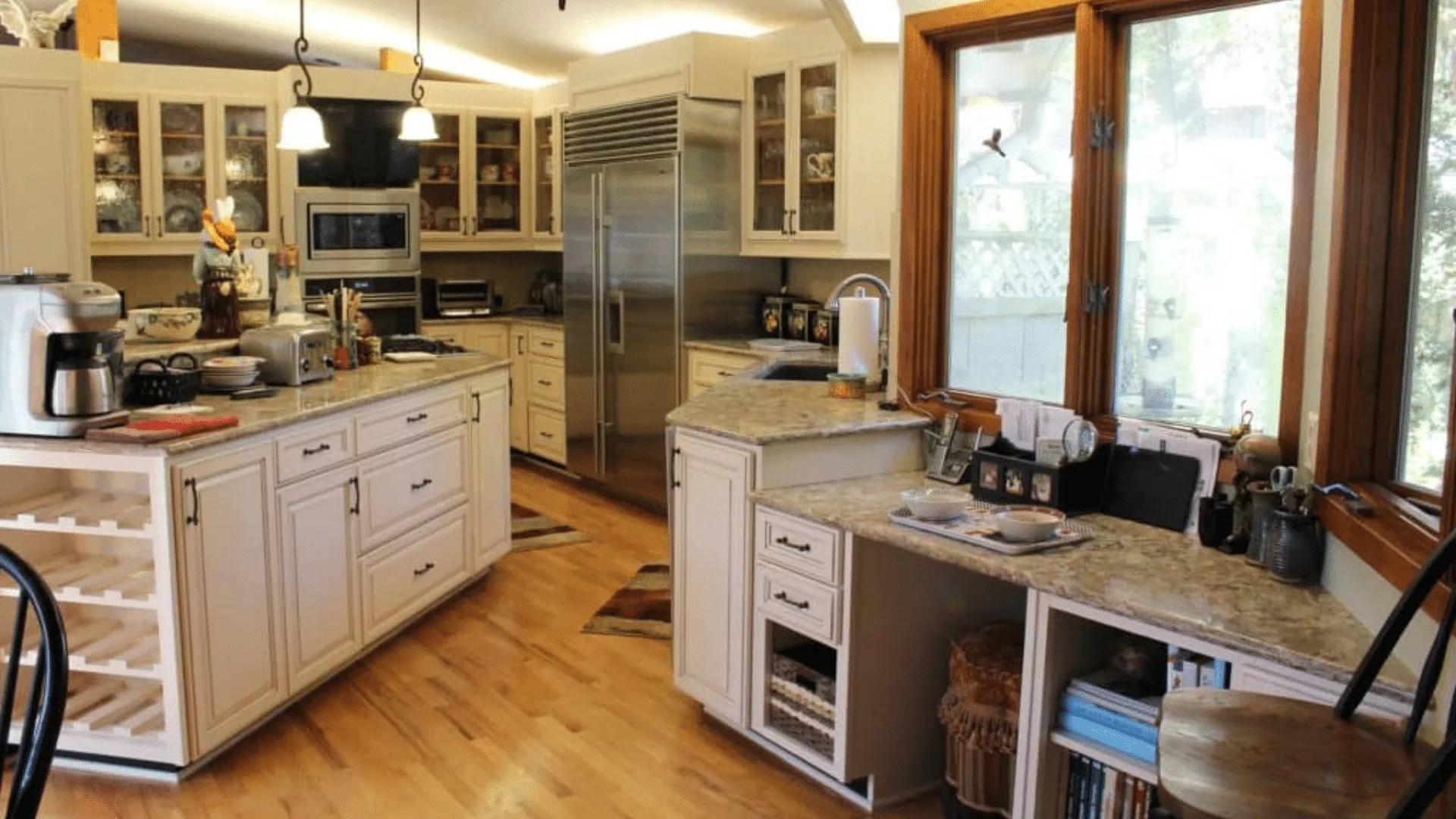 Betton Hills Large Kitchen Cabinet Reface 34 000