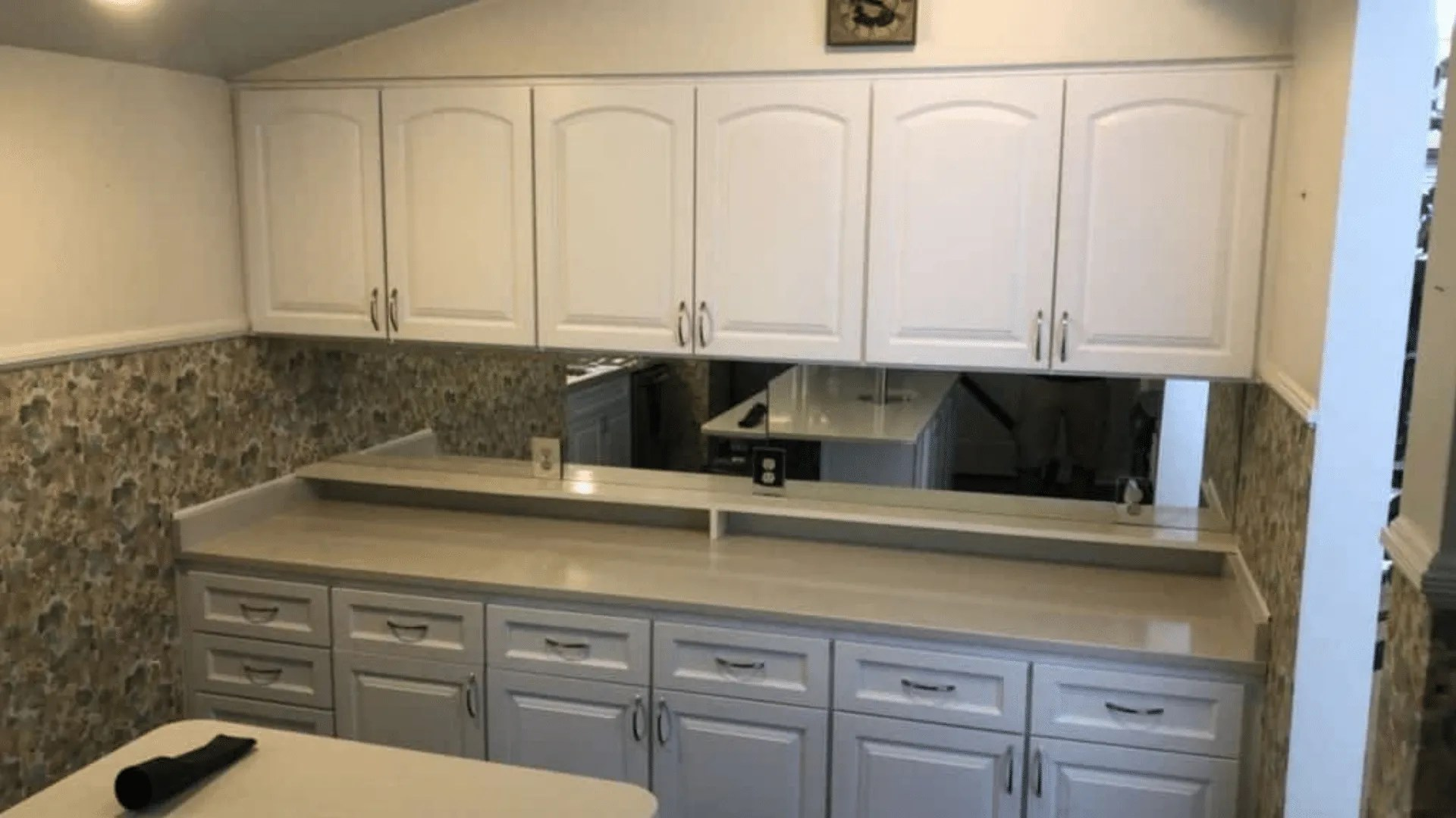 Mid Sized Kitchen Cabinet Reface In Betton Woods 15 400
