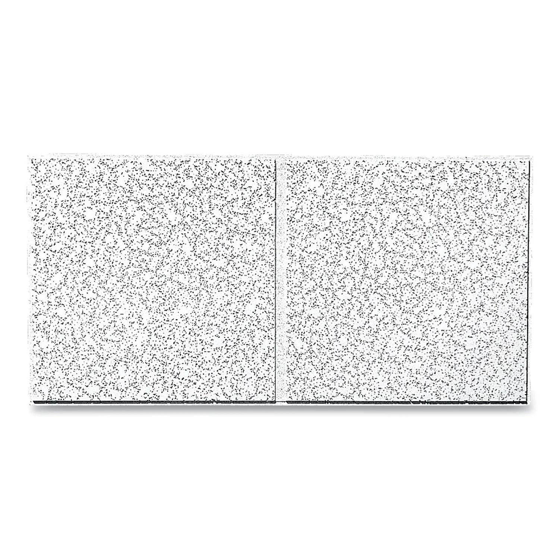 cortega second look ceiling tiles directional angled tegular 0 94 24 x 48 x 0 75 white 10 carton