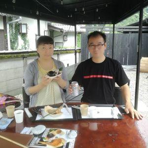 千葉県からお越しのご夫婦です#日原渓流釣場 に行かれる途中でお昼ごはんにお立ち寄り下さいました鍾乳洞にも行かれるのでしょうか🤗 皆さま、鍾乳洞や鍾乳洞売店、そして渓流釣場のその日の情報は @nippara_okutama さんのページをどうぞご覧下さい。天候的に迷った時など、役立ちますよ ご来店ありがとうございました️http://ikadamitake.com 営業時間11~17時(夏季)木曜定休(祭日は営業)※むかし鳥、ばくだんは数に限りがございます。1個からお取り置き致します♪Tel.0428-85-8726#炭鳥 #蔵 #筏 #ikada #むかし鳥 #mitake #tokyo #御岳 #御岳山 #御岳山ロックガーデン #武蔵御嶽神社 #多摩川 #御岳渓谷 #御岳ランチ #奥多摩フィッシングセンター #奥多摩 #日原鍾乳洞 #味玉 #バイク #ロードバイク #カヌー #カヤック #リバーSUP #ラフティング #デッドエンド #ペット可