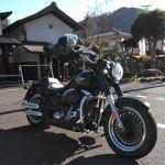 千葉県から #ハーレーダビッドソン でお越しの、リピーターのお客様です🏍️今日は目的地を決めないフラっとツーリングなのだそうで、以前来て下さった当店へお昼ごはんにお立ち寄り下さいました🥚恥ずかしがり屋さんなのでバイクだけ撮らせて頂きました🤗冬晴れの見通しの良いお天気引き続きツーリングをお楽しみ下さいませ🏍️毎度ご来店ありがとうございますhttp://ikadamitake.com営業時間・1月〜  3月 11〜16時  4月〜12月 11〜17時金曜定休(祭日は営業)※むかし鳥、ばくだんは数に限りがございます。1個からお取り置き致します♪Tel.0428-85-8726#むかし鳥 #炭鳥ikada #ばくだん #mitake #tokyo #御岳 #御嶽駅 #御岳山 #御岳山ロックガーデン #武蔵御嶽神社 #御岳神社 #多摩川 #御岳渓谷 #東京アドベンチャーライン #御岳ランチ #奥多摩フィッシングセンター #奥多摩 #日原鍾乳洞 #okutama #バイク #ロードバイク #カヌー #カヤック #riversup  #デッドエンド #ペット可