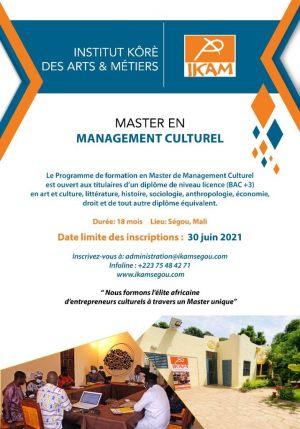 Master en Management Culturel