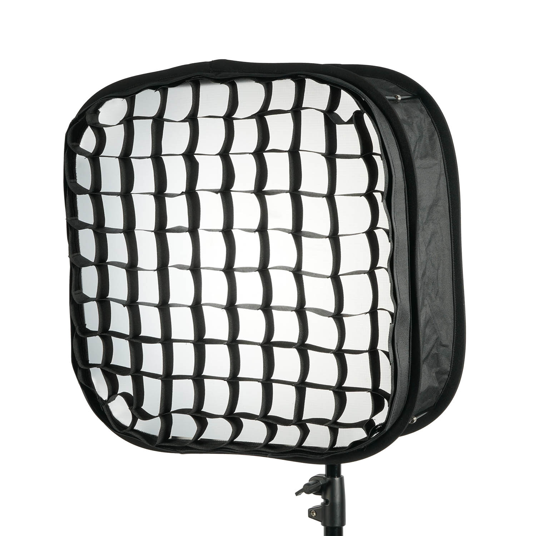 presto soft box modifier for 1 x 1 led light w egg crate