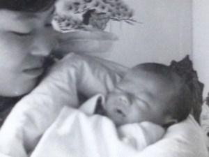 生まれた時の稲田先生