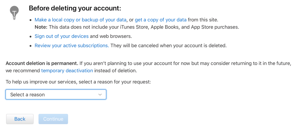 How to Delete Apple ID in 3 Easy Steps (Step 3)