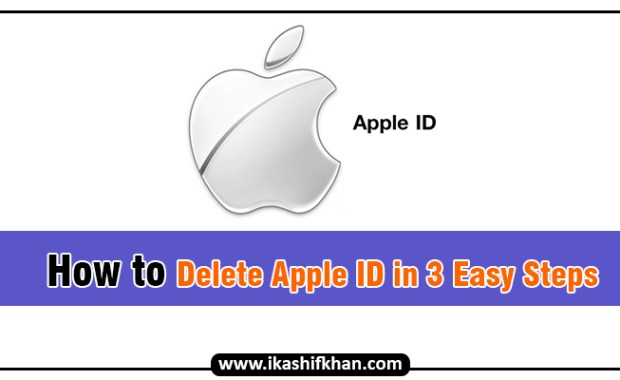 How to Delete Apple ID in 3 Easy Steps