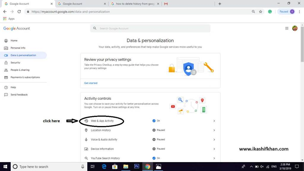 How-to-Delete-Google-Account-History-Step-3