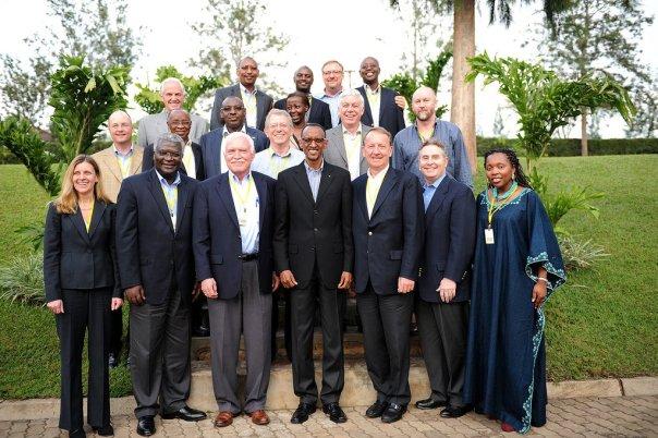 PAC, club des conseillers étrangers de Paul Kagame