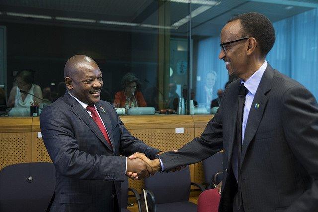 Pierre Nkurunziza na Paul Kagame, ubu ntibacana uwaka