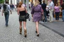 Maastricht is een echte modestad. Prachtige outfits! Kuch.