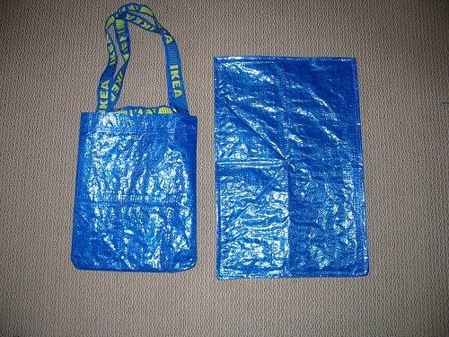 Diaper bag and changing mat