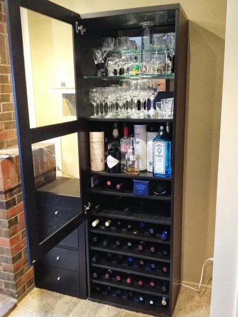 liquor cabinet ikea besta wine rack and liquor cabinet ikea hackers 22735