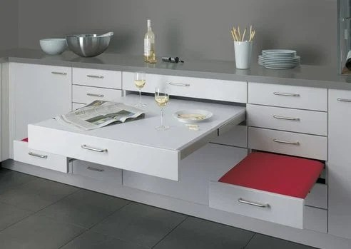 Adding Pull Out Table To Ikea 24 Drawer Ikea Hackers