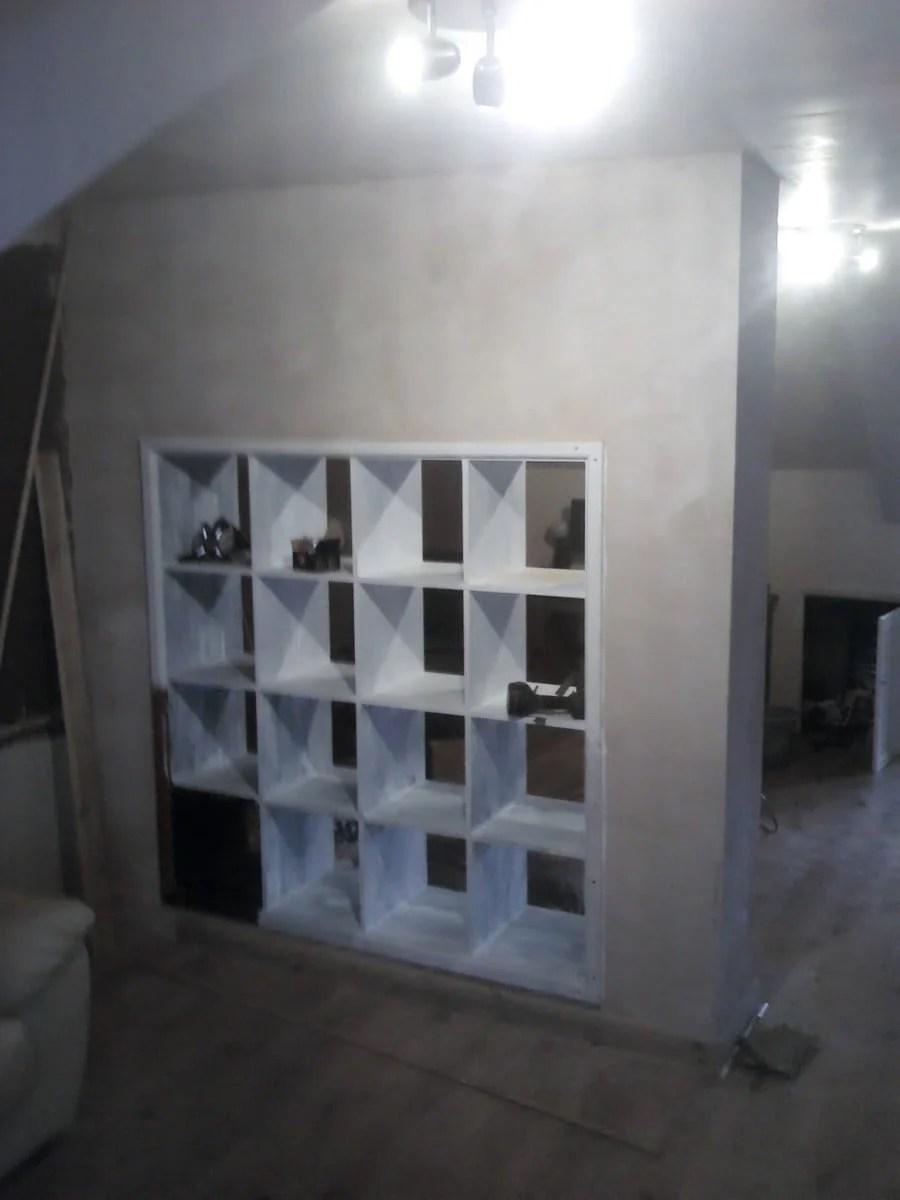 Expedit built in room divider ikea hackers - Built in room dividers ...