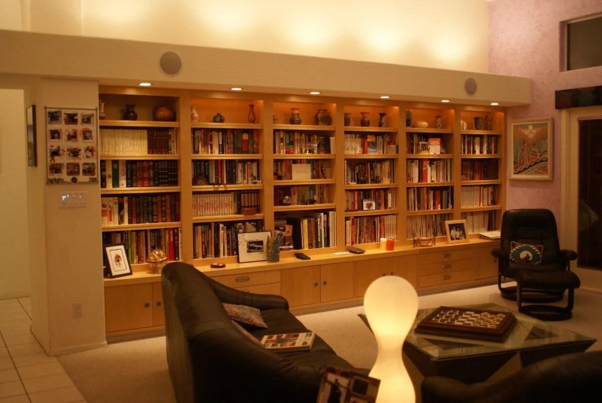 Ikea Built In Bookcase Wall Billy Effektiv Lack Ikea