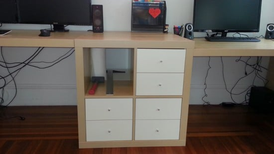 Wall To Wall Desk For About 300 Ikea Hackers