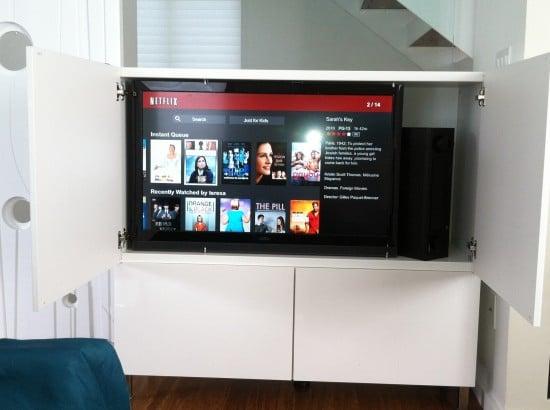 tv fits in besta