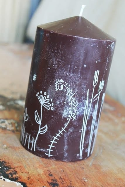 Family Chic IKEA Hack Candle 1-791355