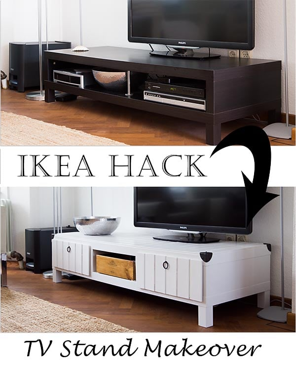 Ikea lack tv stand makeover ikea hackers Ikea furniture makeover