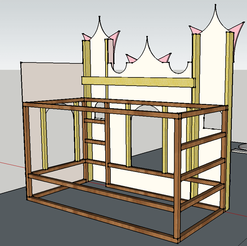 A Bed That Looks Like A Castle Ikea Hackers
