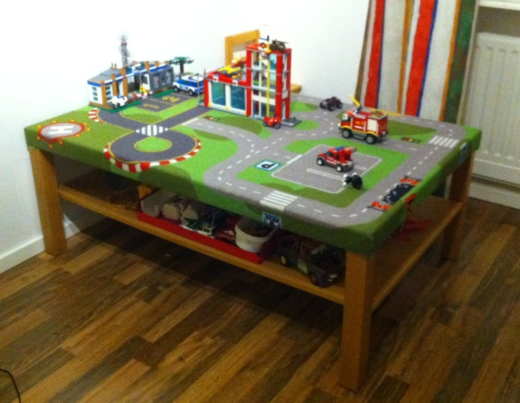 play table with play mat ikea hackers