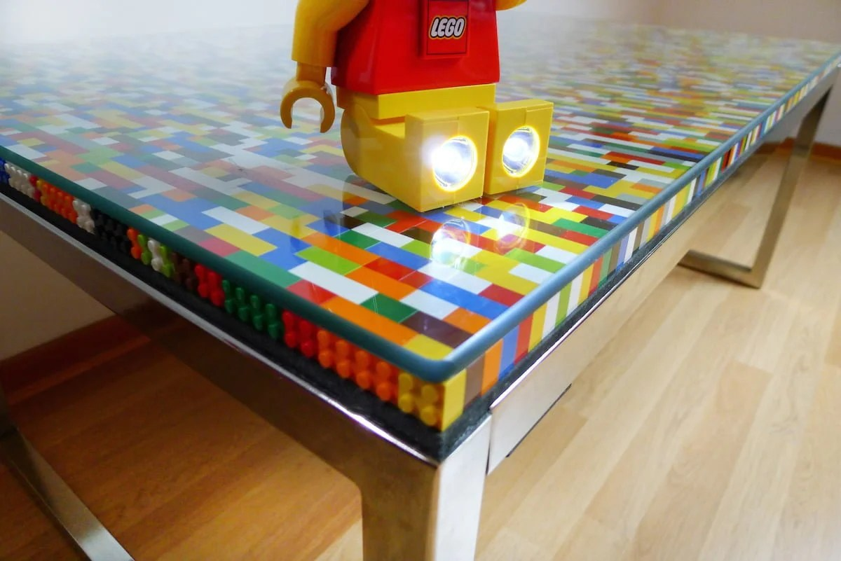 Never Too Many Colors Aka Another Lego Table Ikea Hackers