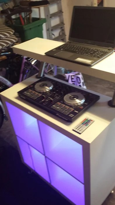 Ikea Expedit Dj Booth For Loungebar Ikea Hackers