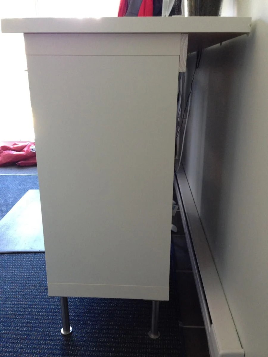 Expedit Standing Desk Under 200 Ikea Hackers