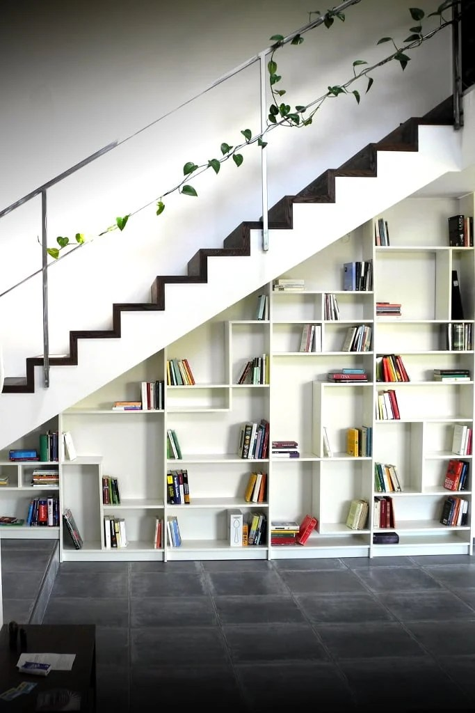 Materials: Five White Billy Bookcases